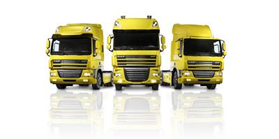 Oferta servicio DAF para XF, CF y LF con motores Euro 3, 4 y 5.