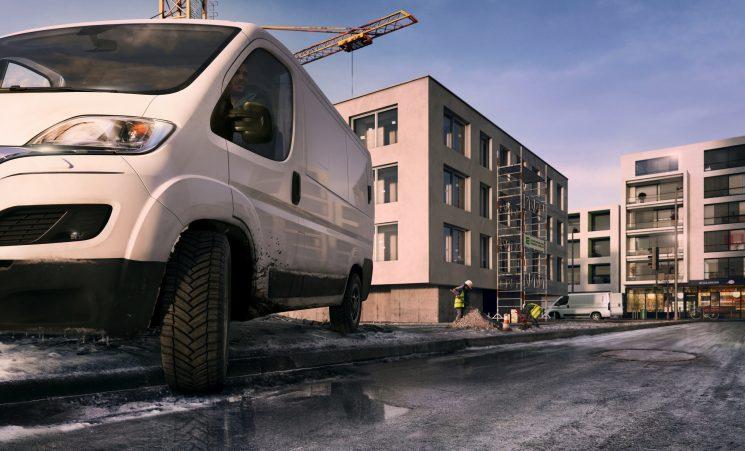 MICHELIN amplía la gama de neumáticos Agilis CrossClimate para vehículos comerciales.
