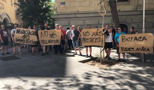 Conflicto en el reparto de prensa en Madrid, paralizado desde el 20 de julio