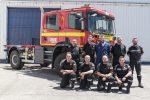 SCANIA prepara a la UME para la campaña de incendios forestales