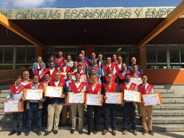 Finaliza la primera promoción de la Renault Trucks University.