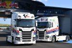SCANIA proveedor de camiones de HVO para Moto GP