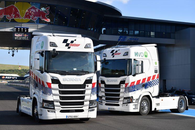 Scania será el proveedor de camiones para Moto GP