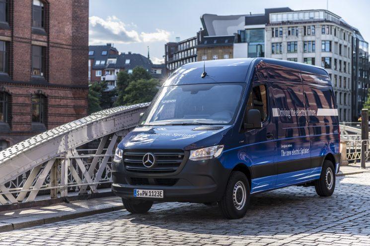 Mercedes-Benz presentará la eSprinter a finales de 2019.