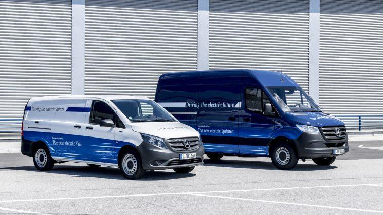 Mercedes-Benz cuenta con su gama de furgonetas en versión eléctrica: la eVito ya, la eSprinter en 2019.