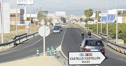 La DGT y la Generalitat tramitan la prohibición de tráfico de camiones en la N340