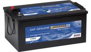 DAF mejora las prestaciones de sus baterías.
