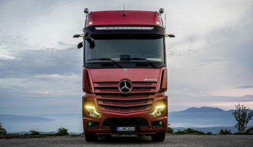 Mercedes-Benz sorprende con el nuevo Actros