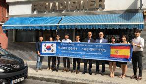 Representantes del Gobierno de Corea del Sur se han reunido con rerpresentantes de FENADISMER para conocer el funcionamiento de las cooperativas de transporte.