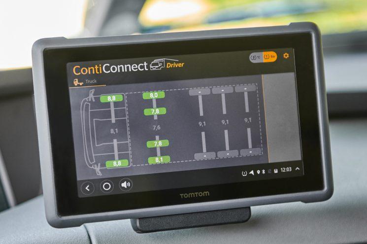 Continental diseña una herramienta para el control de los neumáticos.