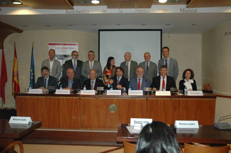 Ayer se presentó la Plataforma PYMES de la que forma parte FENADISMER para la defensa real e independiente de los intereses de las PYMES y autónomos.