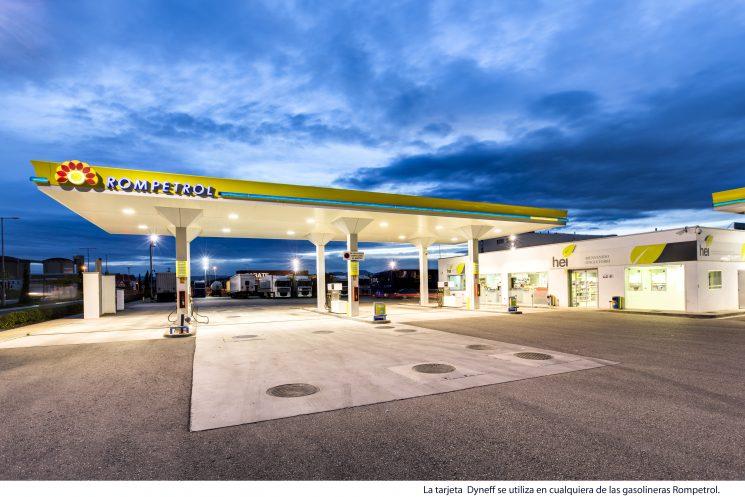 gasolinera Rompetrol