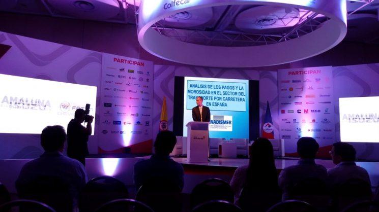FENADISMER ha participado en un Congreso Internacional de Transporte en Colombia.