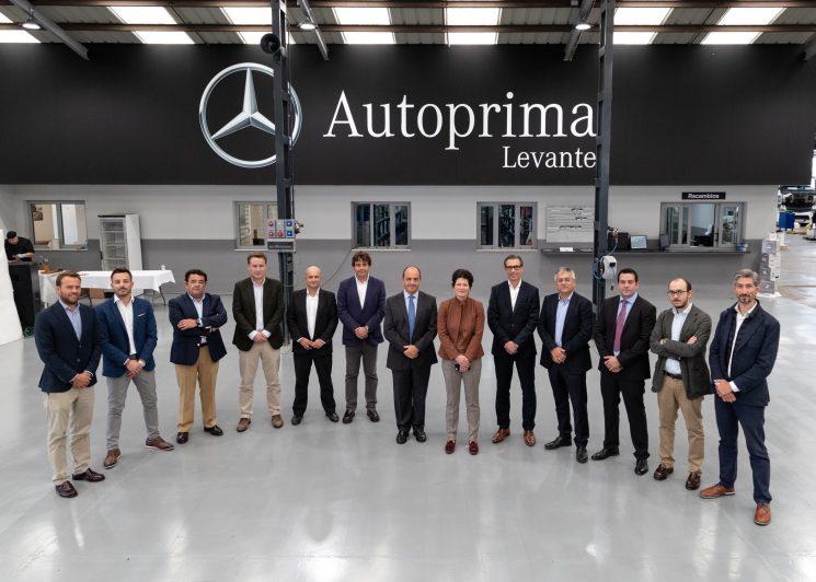 Inaugurado un nuevo concesionario oficial de Mercedes-Benz en Castellón.
