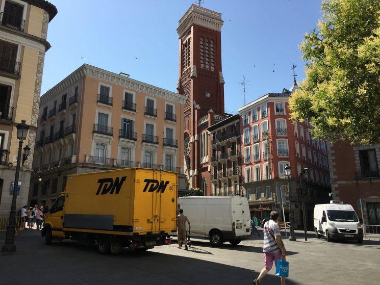 La DGT inicia hoy una campaña de control de furgonetas para concienciar de la importancia de la seguridad y de que estos vehículos no se conducen como turismos.