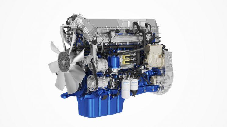 Volvo introduce mejoras en los motores D11 y D13 para adaptarlos a la normativa Euro 6 Step D.