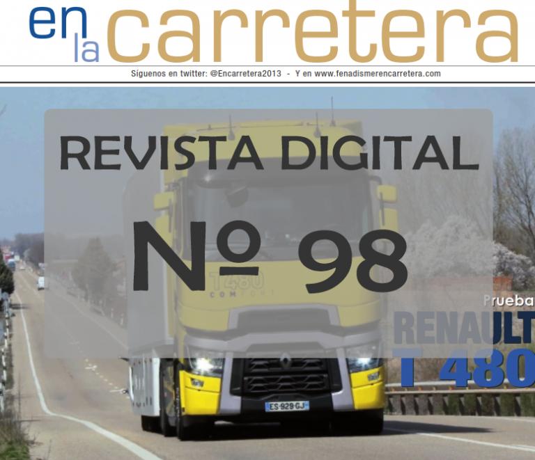 Disponible en la web la Edición 98 de Fenadismer en carretera