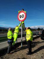 Ya en vigor la bajada de velocidad a 90 km/h para turismos en carreteras convencionales