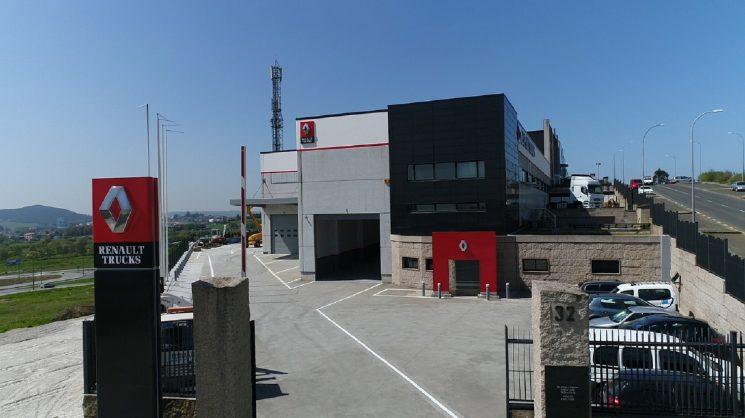 Renault Trucks abre un nuevo punto de red en Santiago de Compostela