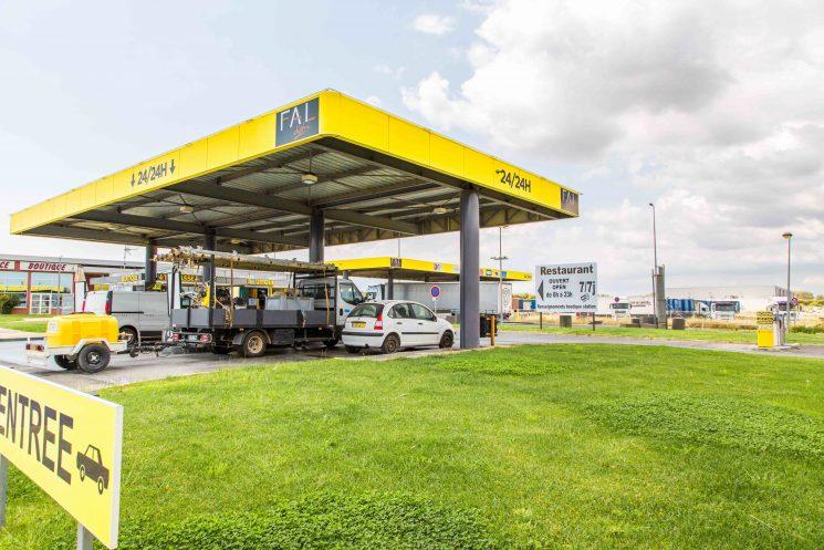 Andamur incorpora cinco nuevas estaciones de servicio en Francia a su red europea.