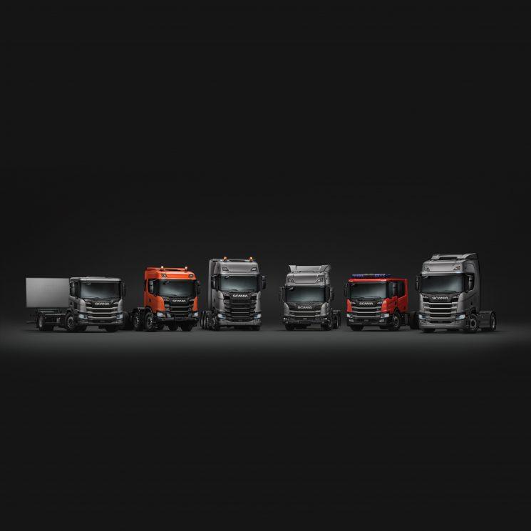 Scania es líder del mercado español 2018 en camiones de más de 16 toneladas.