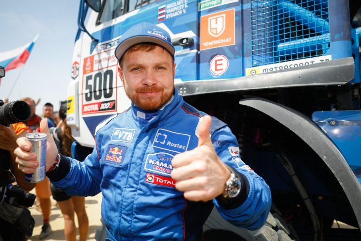 El ruso Nikolaev se hace con su cuarto Dakar a bordo de su Kamaz.