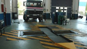 FENADISMER ha obtenido de industria el compromiso de buscar una solución a los problemas actuales en las pruebas de frenado de los camiones en las ITV.