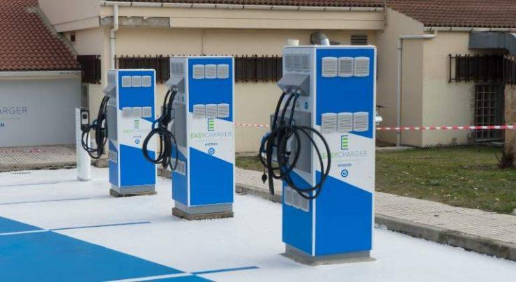 Las estaciones de recarga de vehículos eléctricos también se benefician de ayudas dentro del PLAN MOVES