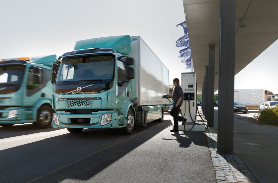 primeras entregas del Volvo FL 100% eléctrico.