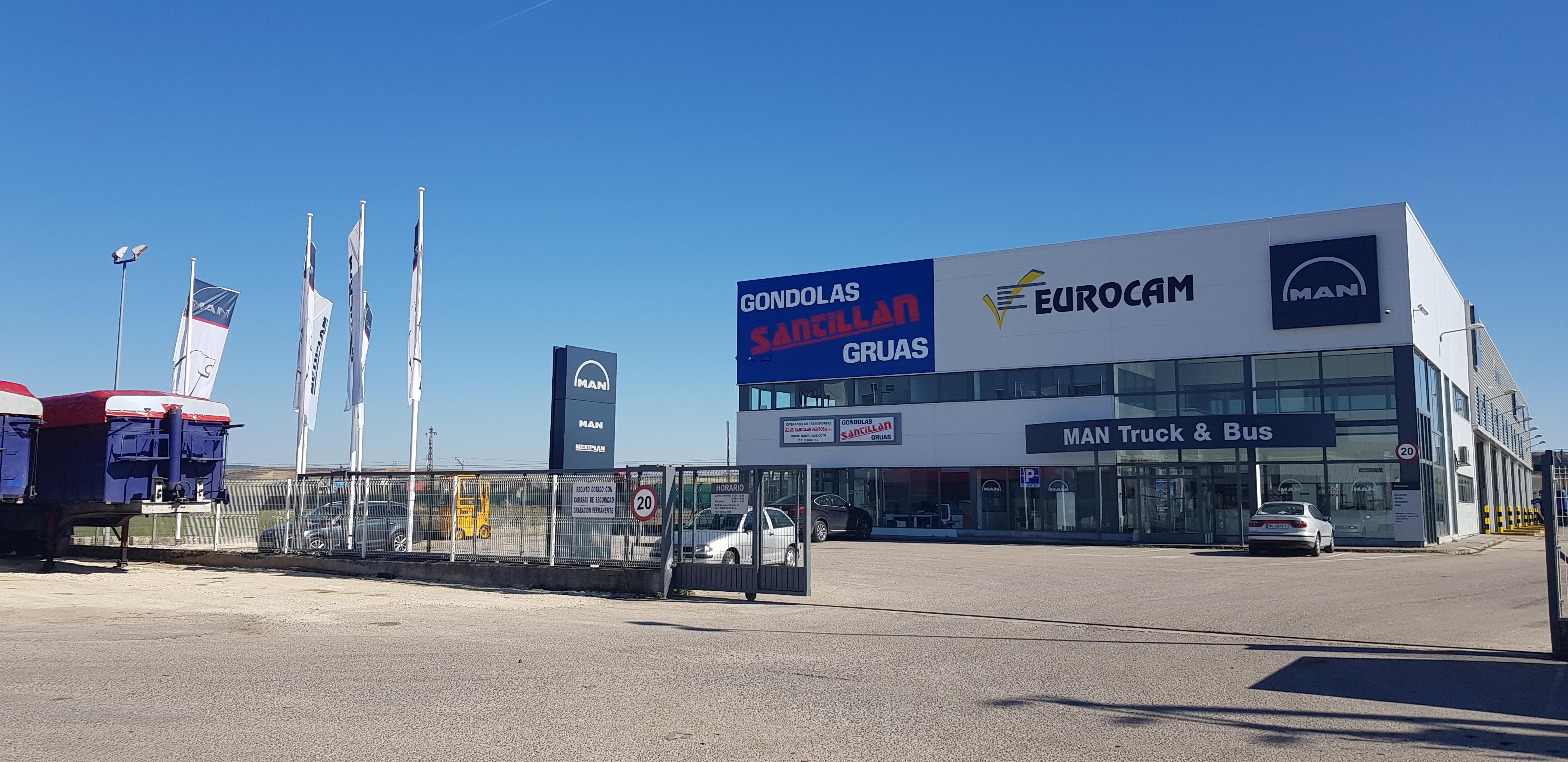 EUROCAM renueva las instalaciones del servicio oficial de MAN en Burgos
