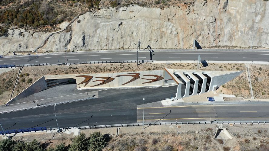 Nuevos tramos de la A23 abiertos en Huesca