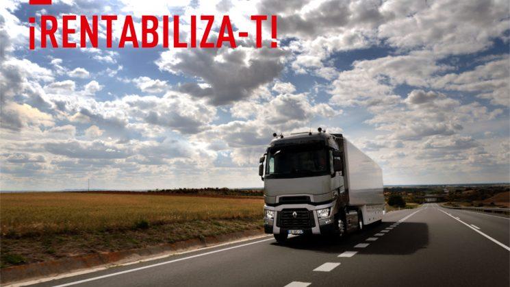 Camapaña de seminuevos de Renault Trucks.