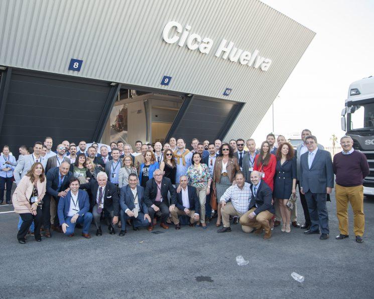 El concesionario de Scania Cica Huelva inaugura instalaciones