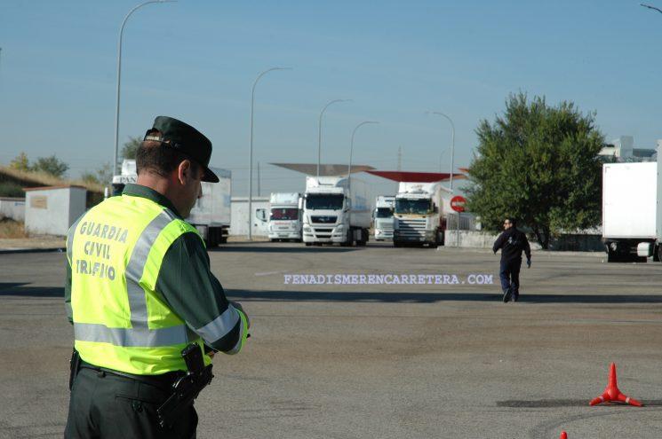 En el último control realizado a camiones y furgonetas un 12,23% de los conductores han resultado sancionados, especialmente por excesos de velocidad y de horas de conducción.