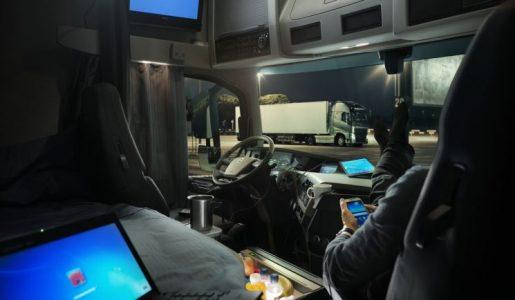 La Guardia Civil ya sanciona por el descanso semanal normal en cabina