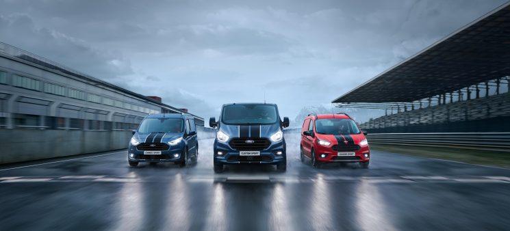 Ford completa la gama Sport con la Transit Custom Sport.