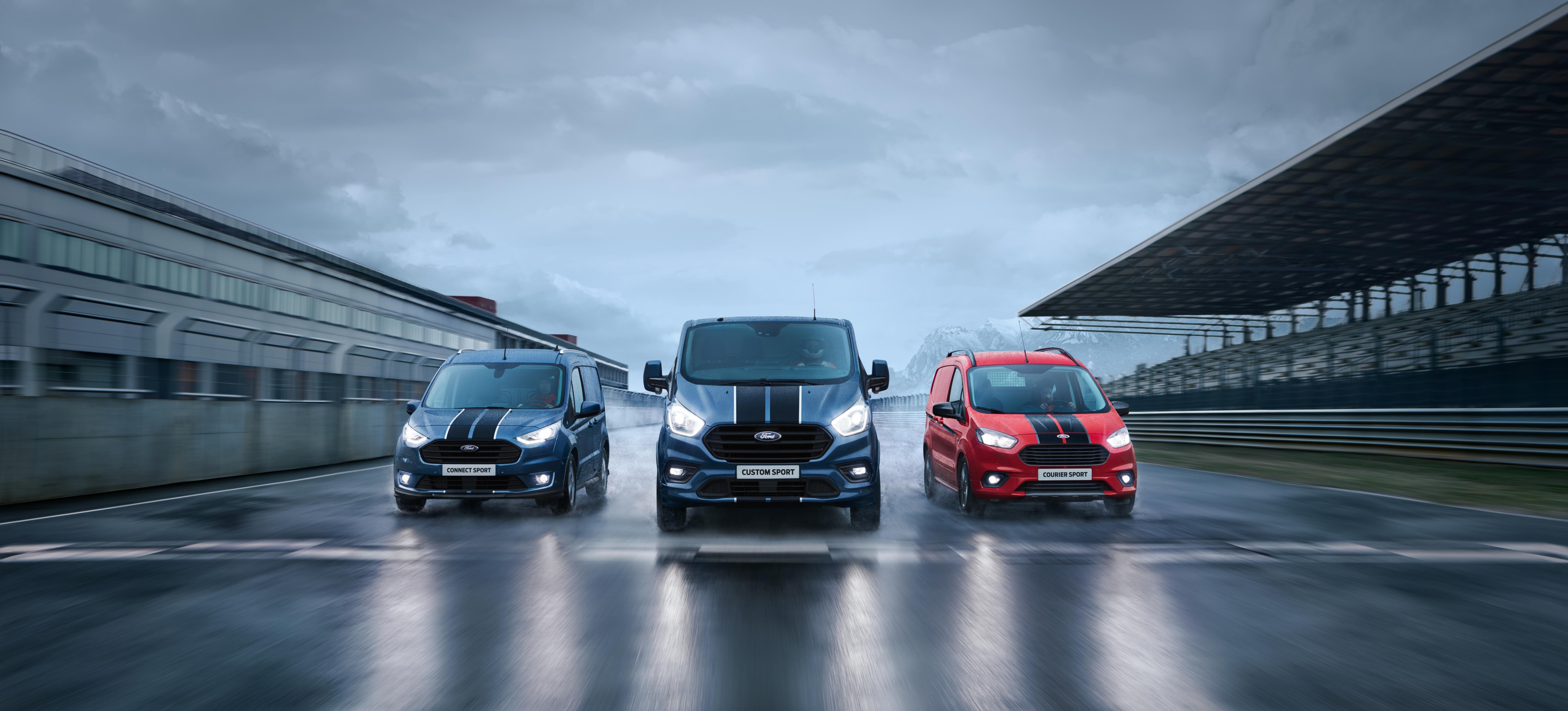 La Transit Custom Sport completa la gama Sport de Ford