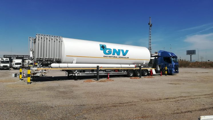 Grupo HAM inaugura una gasinera móvil en Valencia.