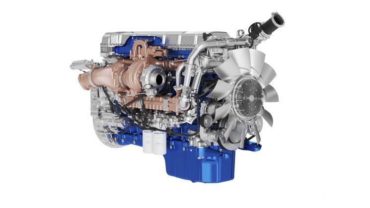 El motor D13TC incluido en el FH Isave ha recibido mejoras que le hacen más eficiente desde el punto de vista del consumo.