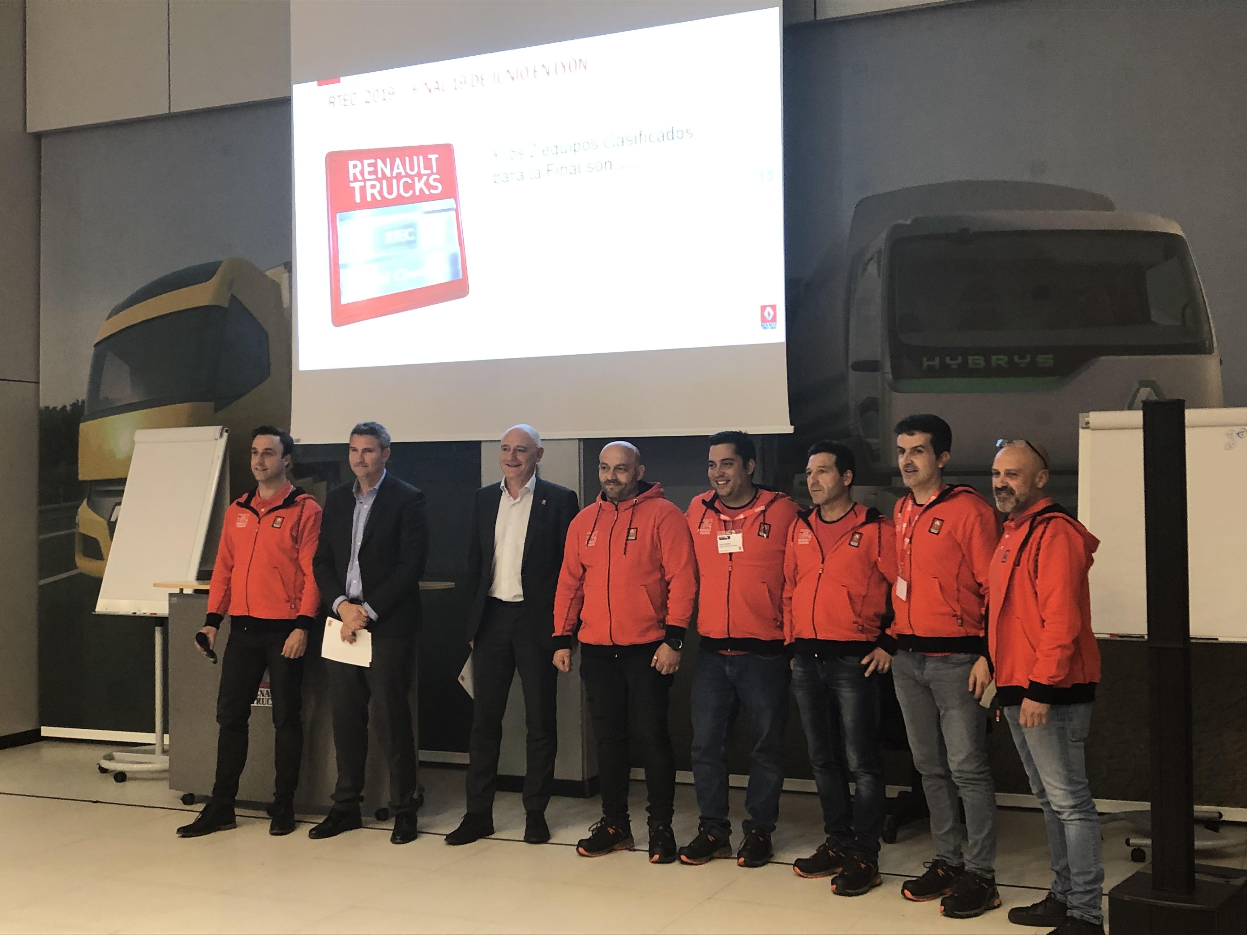 El equipo Monstertruck de Renault Truck center Madrid ha sido el segundo clasificado en la semifinal de posventa RTEC y acompañará a Talleres Craf Orense a la final de Lyon.