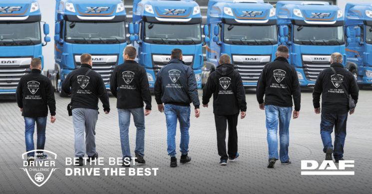 DAF organiza un campeonato internacional de conductores