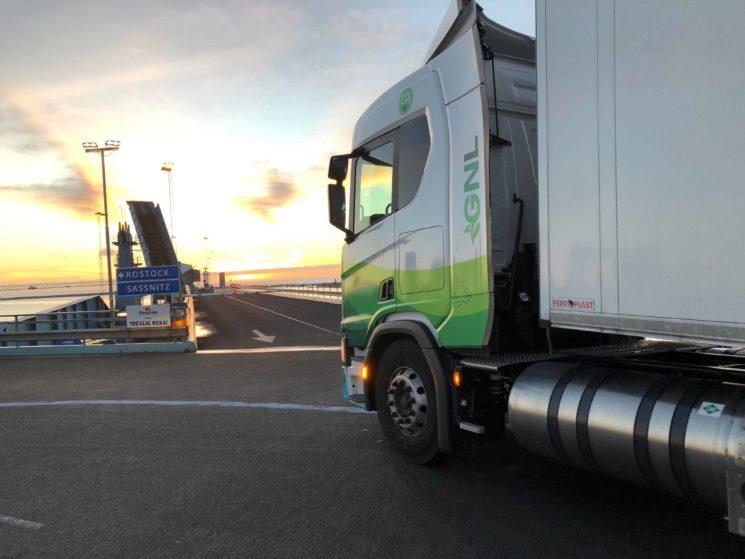 Un Scania G410 de gas natural realiza una ruta de 3000 kilómetros