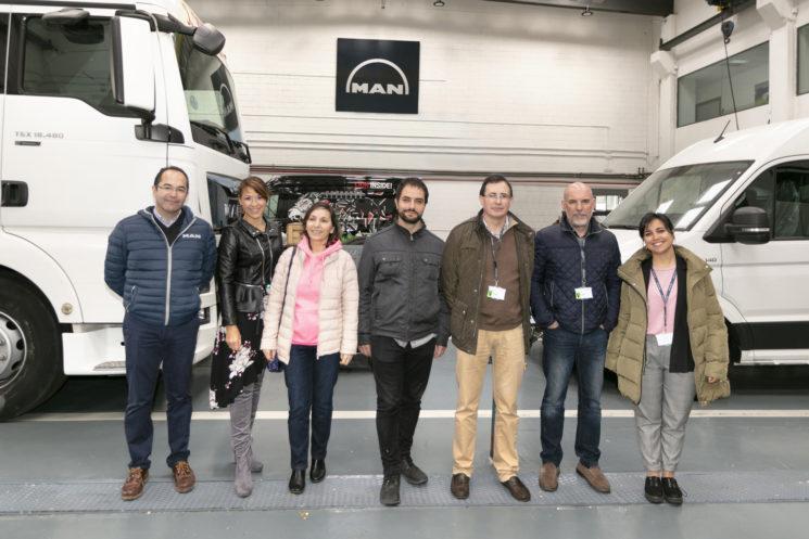 MAN Truck&Bus Iberia, Transportes Molinero y Aldeas Infantiles dan una oportunidad a jóvenes en riesgo de exclusión