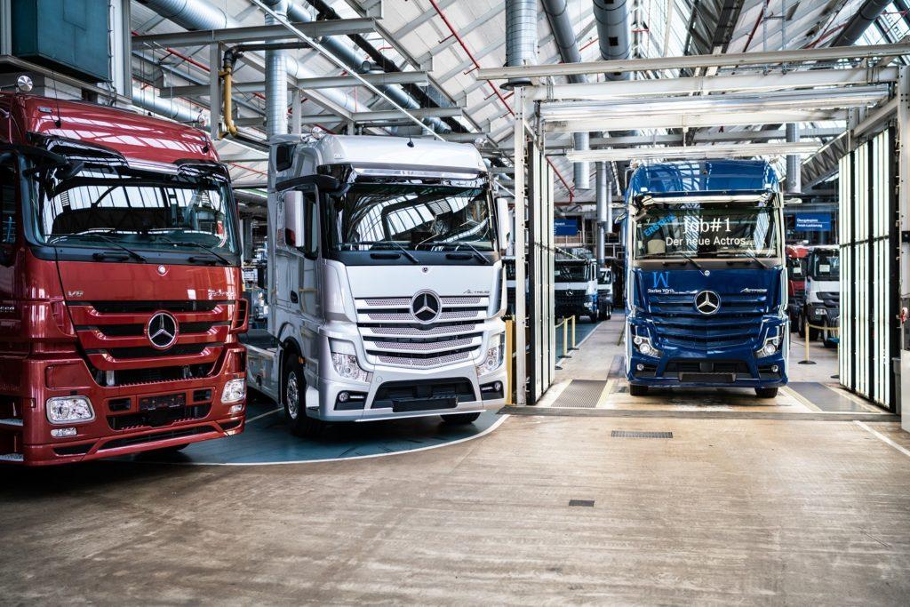 Las unidades matriculadas de vehículos industriales han descendido un 58,9% en mayo de 2020 con referencia a mayo de 2019. Mercedes-Benz con el Actros sigue liderando las matriculaciones.