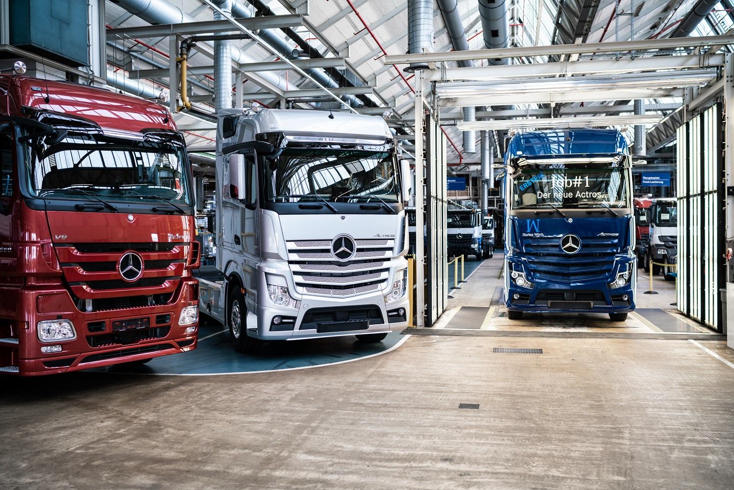 Nuevo Mercedes Actros