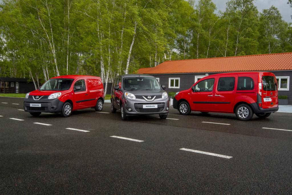 Nissan ha lanzado en el Salón del Automóvil de Barcelona la nueva furgoneta NV250.