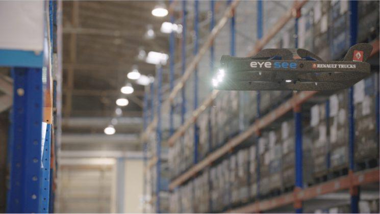 Renault Trucks incorpora drones para la gestión de sus inventarios