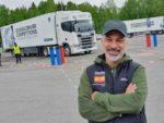 Juan Romeral alcanza la semifinal en el Scania Driver Competition 2019