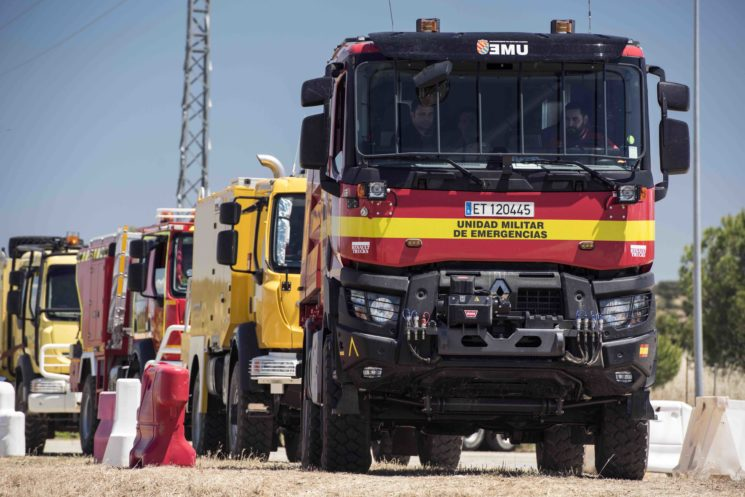 Primer Campeonato de Bomberos Forestales de Renault Trucks
