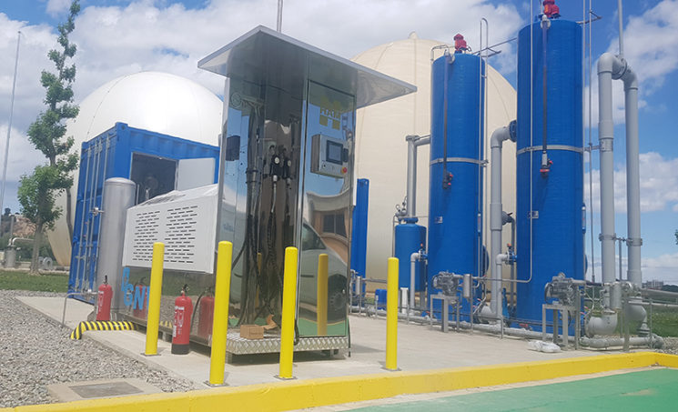 HAM inaugura una nueva estación HAMikro en Lleida de biometano procedente de las aguas residuales de la ciudad.